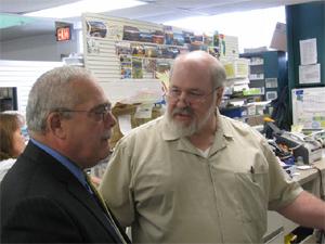 Gerald Connolly and Robert Borgatti